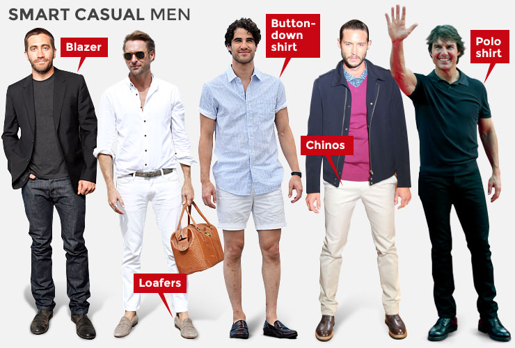 What does a smart casual dress code actually mean? | The New Daily