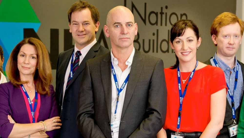 Bar Tony (centre) and Nat (in red), there isn't much competency in the Nation Building Authority. Photo: Supplied