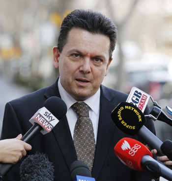 Mr Xenophon plans to field candidates in up to all 11 seats at the next Federal election.