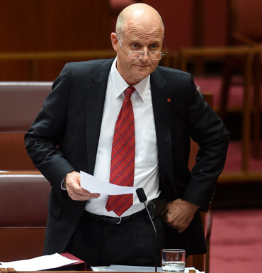 Leyonhjelm has made his support for the sharing economy hilariously clear in the past. Photo: Getty