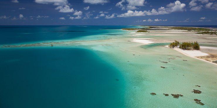 © Ben Thouard / Sea&Co : Aerial shot  / Tuamotu / french Polynesia