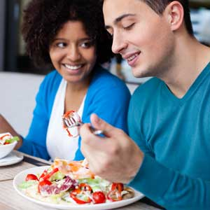 Have a feed before you go shopping. Photo: Shutterstock