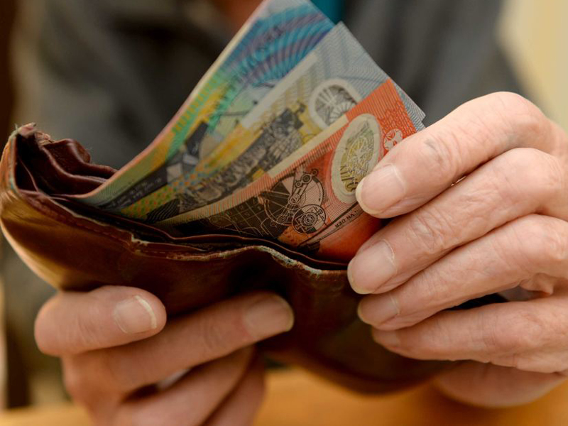 The Aust dollar dropped to its lowest level against the greenback in six years.