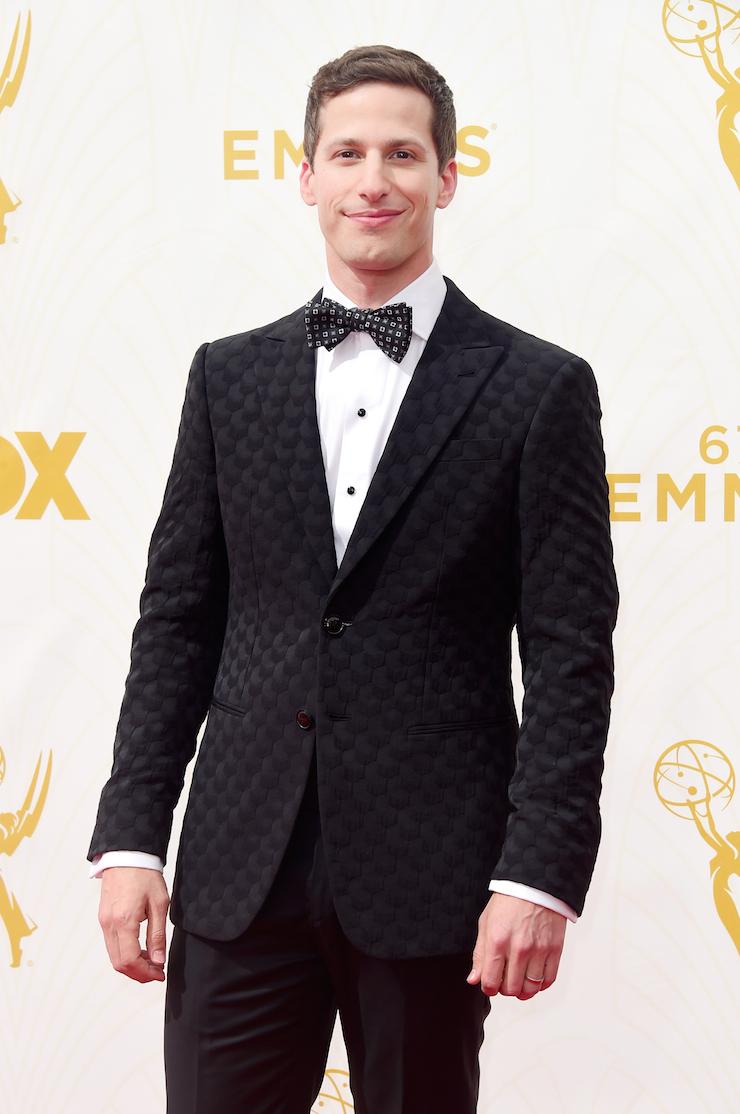 Host Andy Samberg.