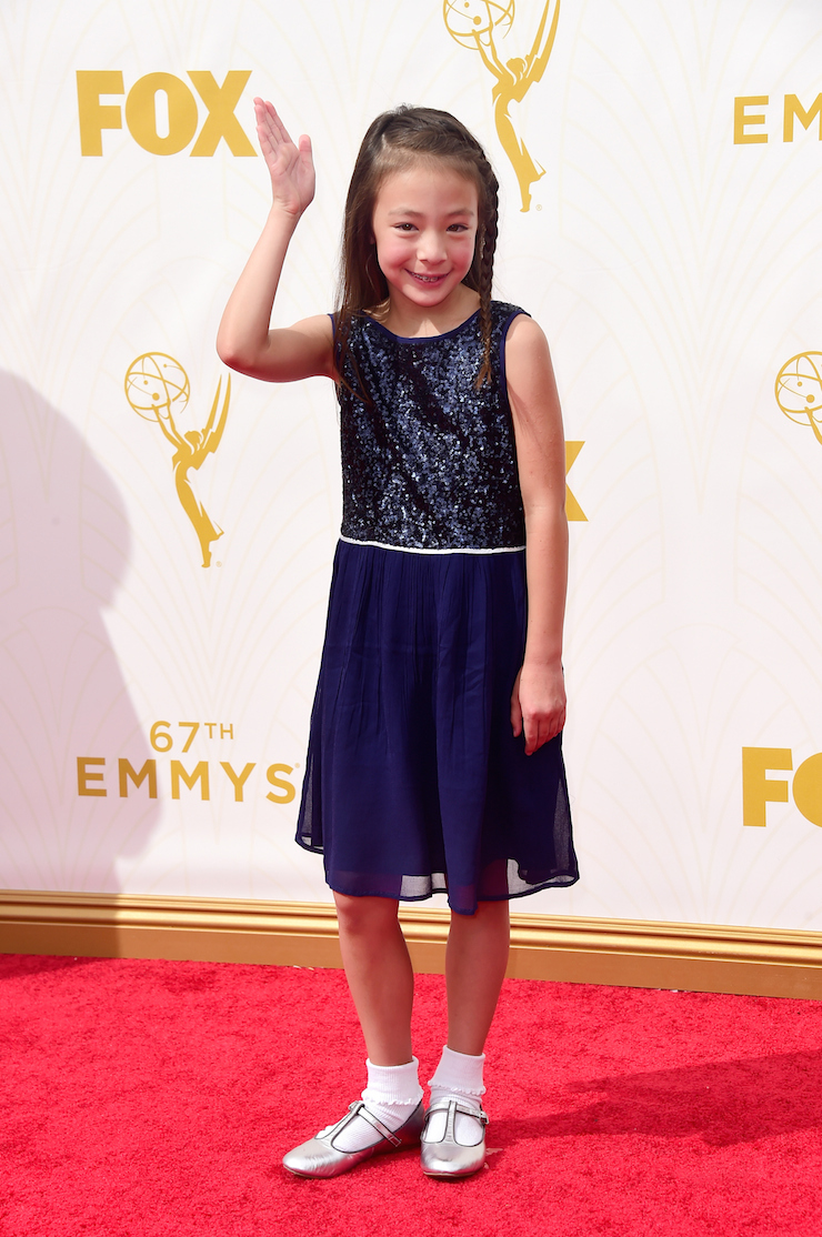 Aubrey Anderson-Emmons, who plays Lily in 'Modern Family'.