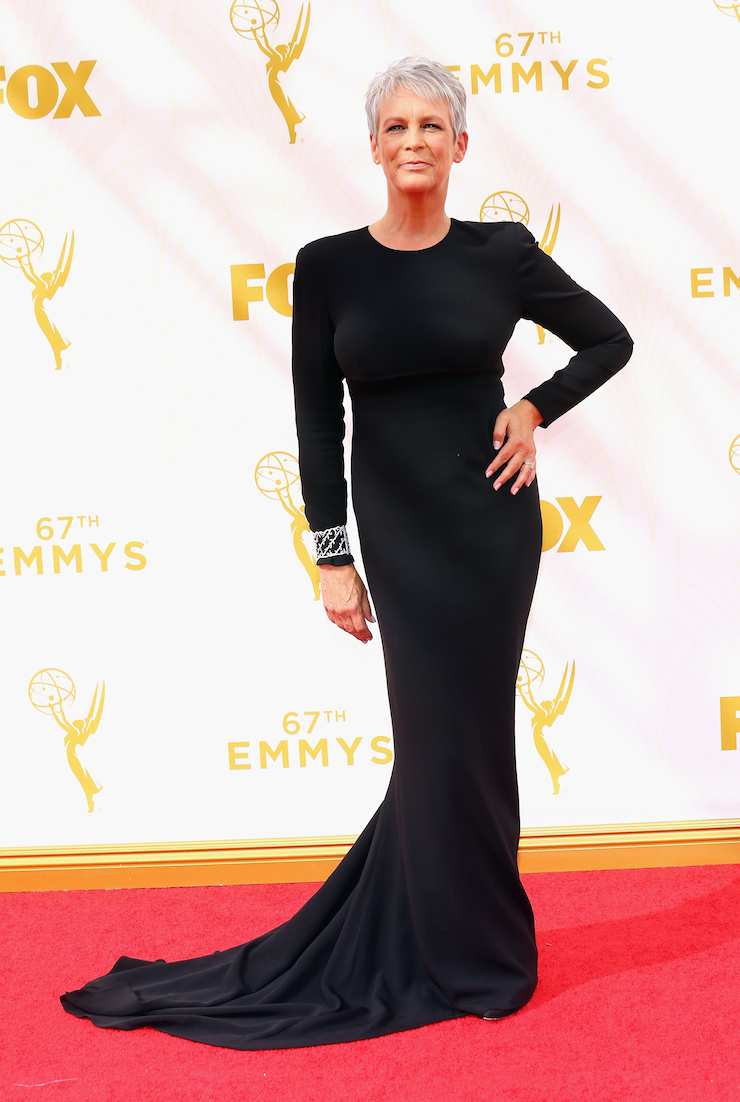 Horror movie icon Jamie Lee Curtis, who is currently starring in 'Scream Queens'.