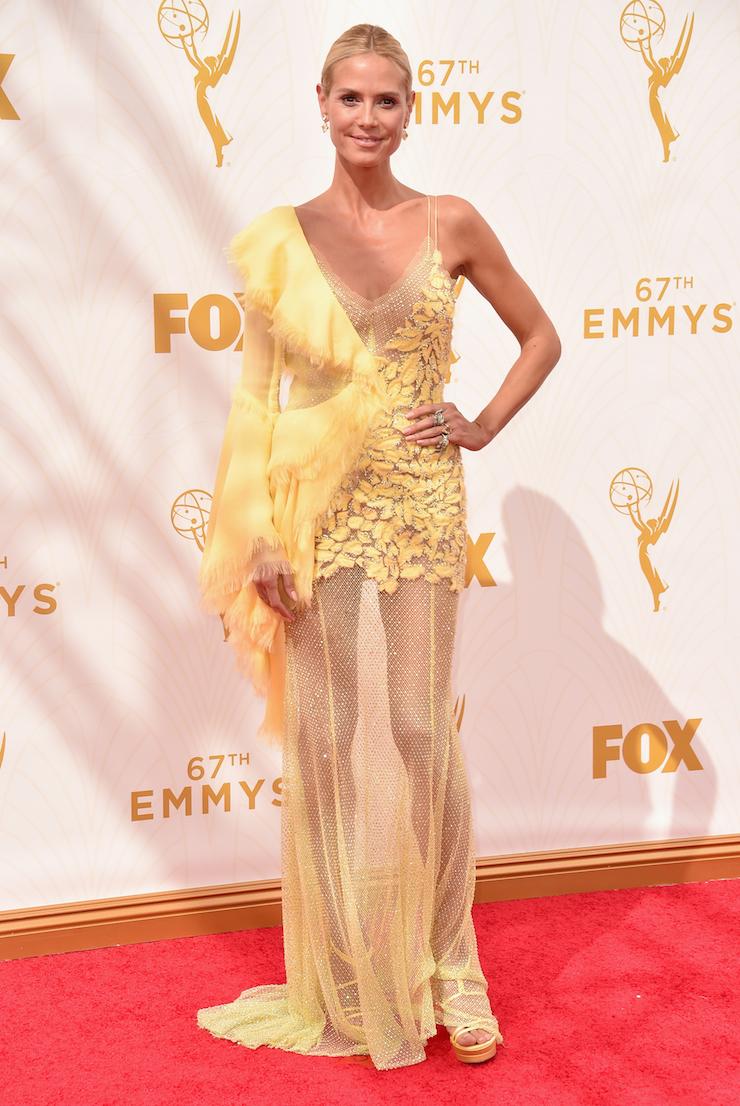 Supermodel Heidi Klum.