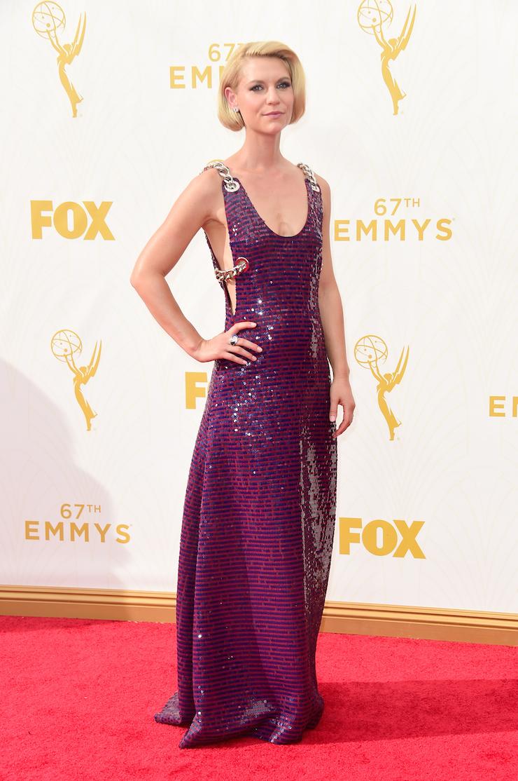 'Homeland' star Claire Danes.