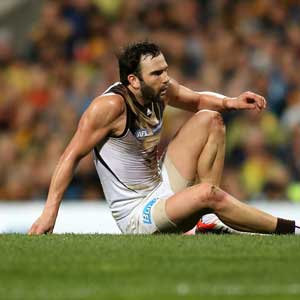 Jordan Lewis knows it will be tough from here for the Hawks. Photo: Getty