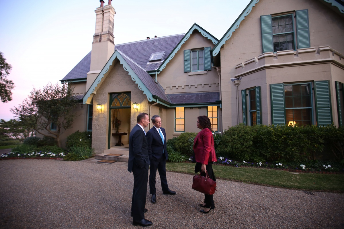 Mansions of australia 39 s mogul prime minister the new daily for Abbott house