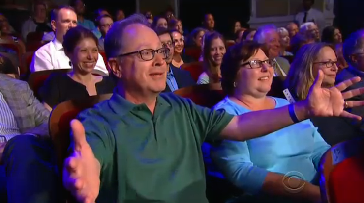 Colbert's brother got involved in a gag about Jeb Bush's brother, George W.
