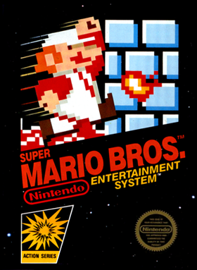 The first Super Mario game, released in 1985. Photo: Wikipedia