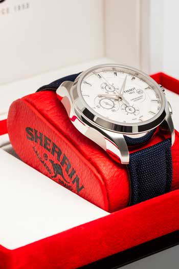 Jude Bolton is on his way to Switzerland to pick up this and 22 other watches that look the same. Photo: Getty