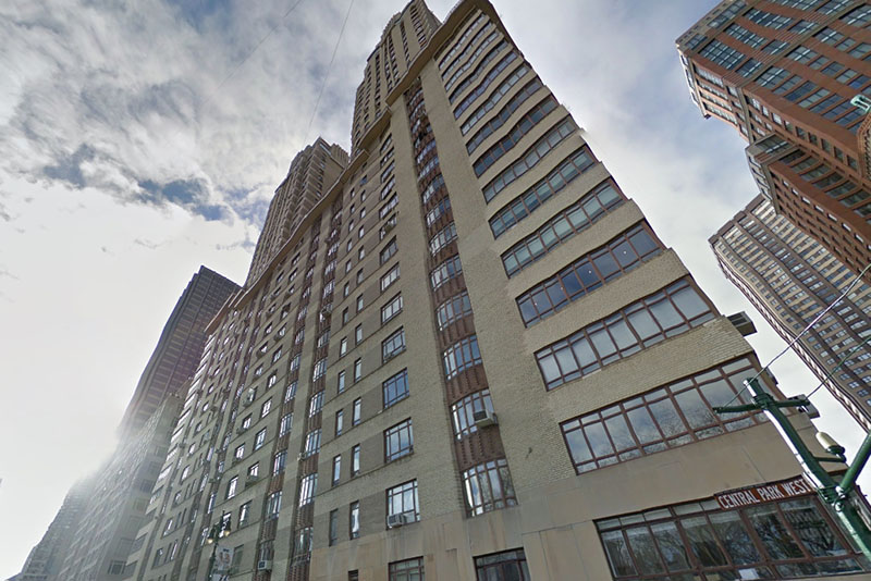 Malcolm Turnbull and wife Lucy own an apartment in New York. Google Earth