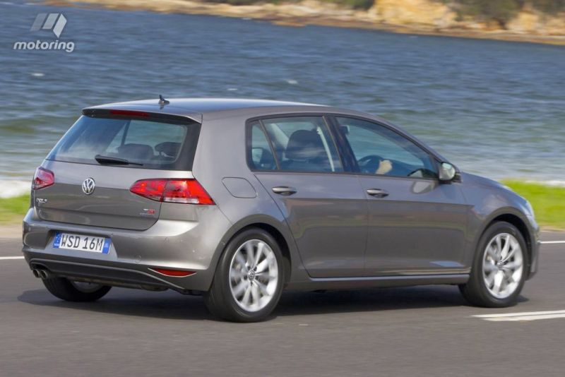 The Golf's price tag ranges from $21K to over $50K.