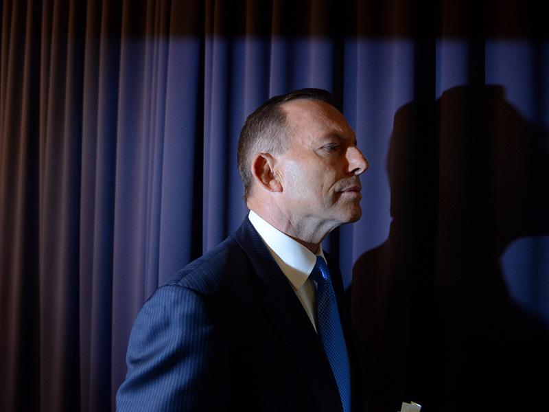 TONY ABBOTT LEADERSHIP PRESSER