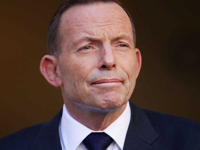 The former PM said the Coalition should have stuck by him.