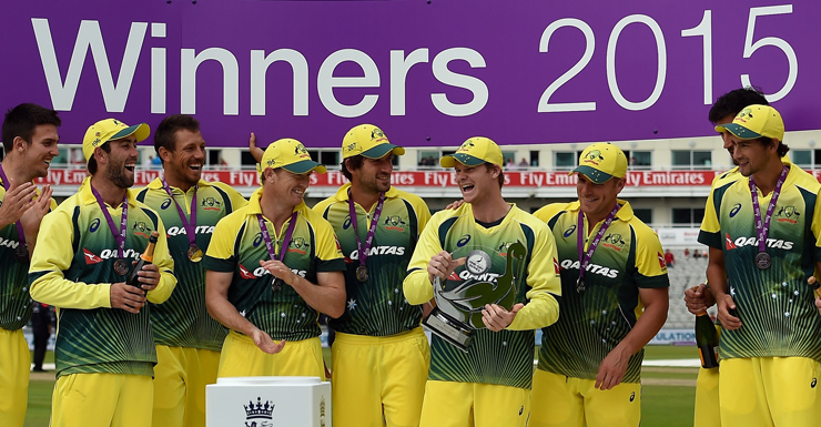 The Aussies won the decider with ease, finished the series 3-2. Photo: Getty