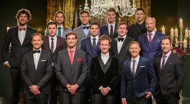 The contestants on 'The Bachelorette'. Photo: Ten
