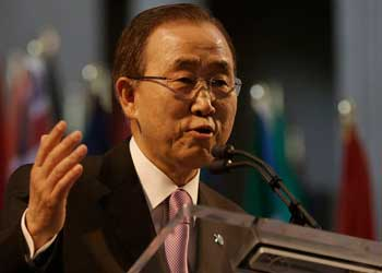 UN. Secretary General Ban Ki-moon
