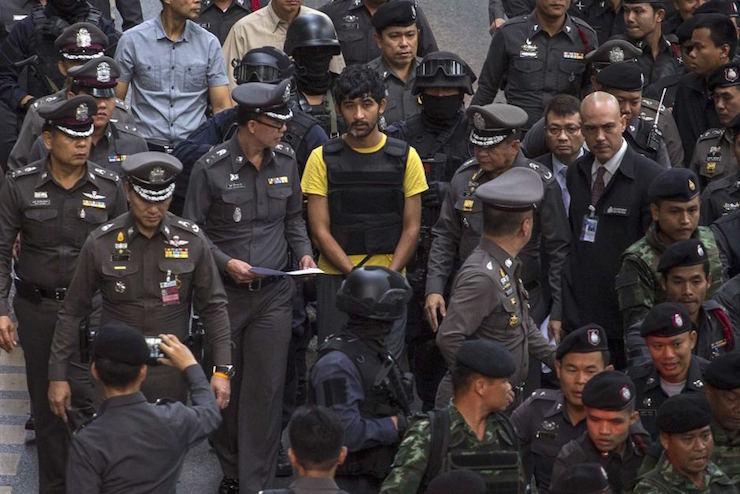 a bangkok bomb suspect