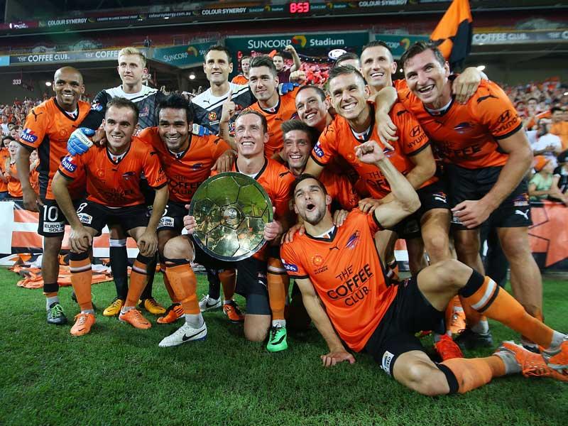 Brisbane Roar premiers 2014