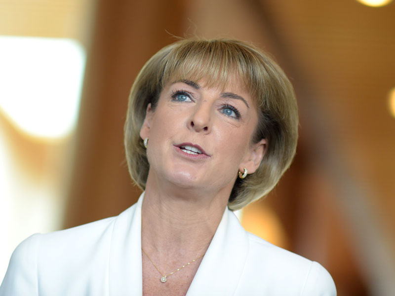 Michaelia Cash says women need to be respected and kept safe.