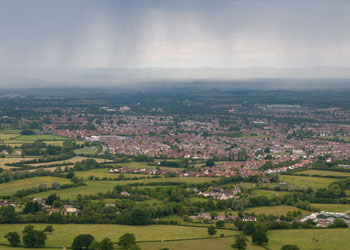 The town of Cheltenham, about 150km north-west of London, was the scene of the hit-and-run. Photo: Shutterstock