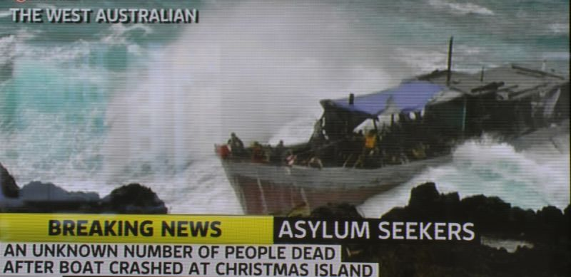 Christmas Island boat tragedy