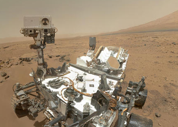 The Mars rover cannot access the water flows. Photo: NASA