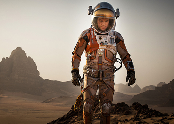 """A Hollywood director says he knew about Mars' water """"months ago""""."""