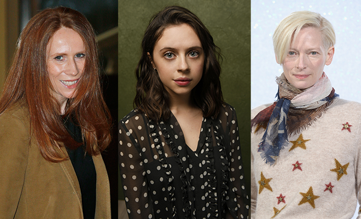 Left-right: Catherine Tate, Bel Powley and Tilda Swinton could all fill the role with aplomb.