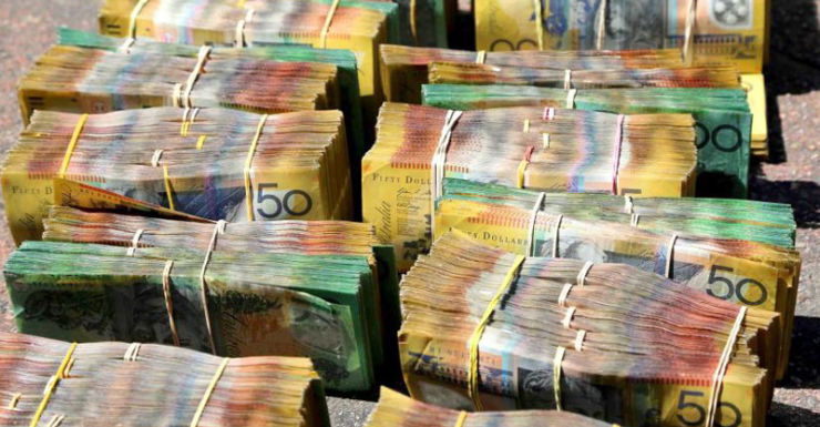 Detectives seized more than $700,000 during the investigation.
