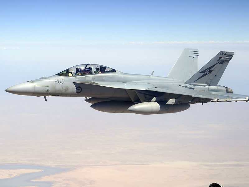 Australia was one of the nations that carried out the air strikes inside Syria.