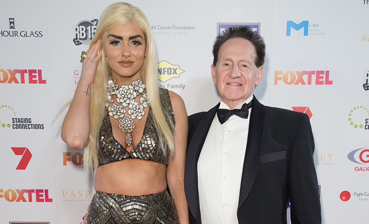 Gabi Grecko and her husband, Geoffrey Edelsten, are both contestants on the show. Photo: Getty