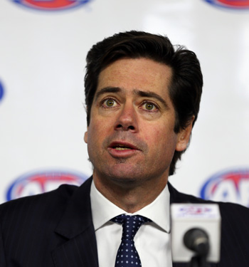 AFL CEO chief Gillon McLachlan has been named as a defendant.