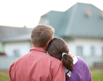 The property market is intimidating for young couples.