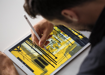 Apple seems to have copied Microsoft with its new iPad Pro. Photo: Apple