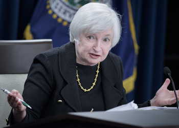 Federal Reserve chairwoman Janet Yellen Photo: Getty