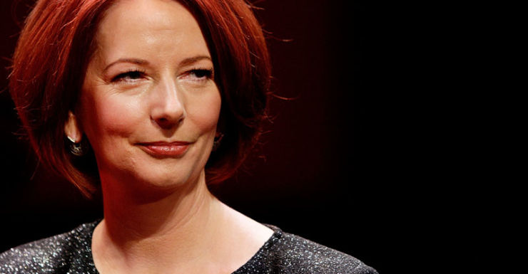 Julia Gillard Australia day