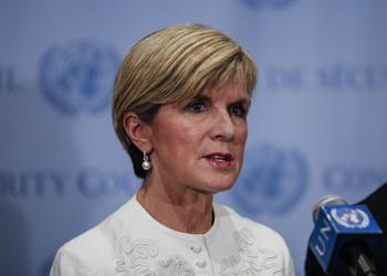 Julie Bishop is in New York for a UN summit. Photo: Getty