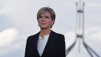 Ms Bishop was in Japan for discussions last week. Photo: AAP