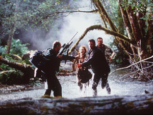If Jurassic Park is anything to go by, bringing back dinosaurs would only mean constant fitness tests. Photo: Getty