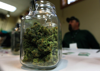 In Denver, marijuana is perfectly legal to buy. Photo: Getty