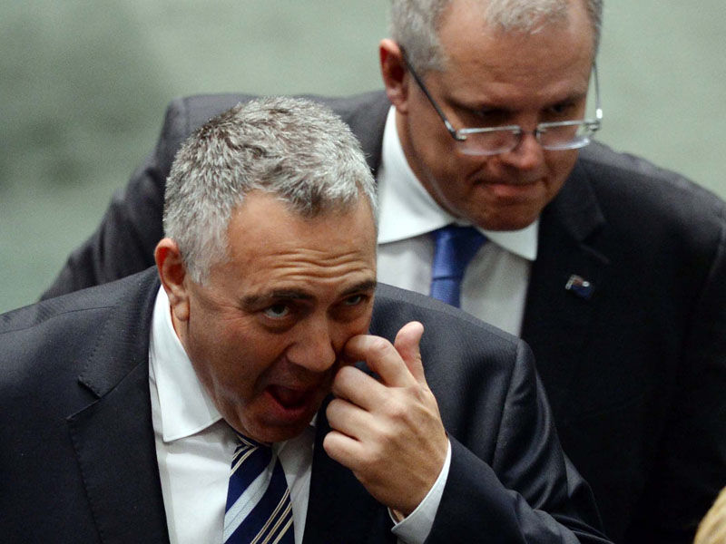 Does Mr Morrison have Joe Hockey's job in sight?
