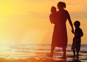 Obviously, having children doesn't always equal unhappiness. Photo: Shutterstock