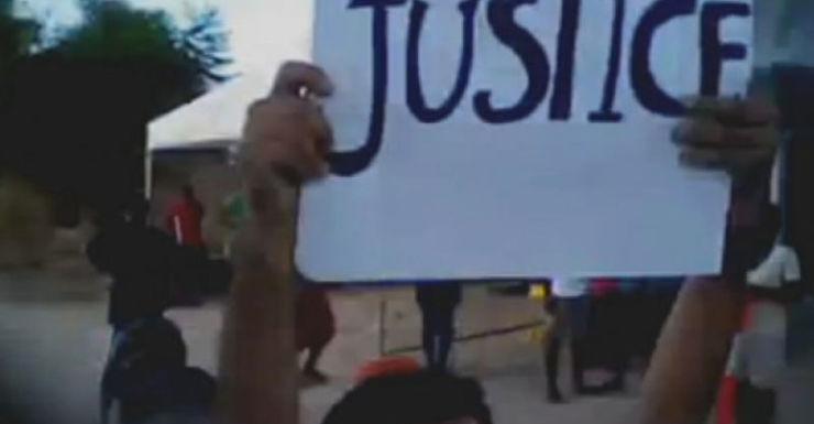 Nauru detention centre protest, asylum seekers