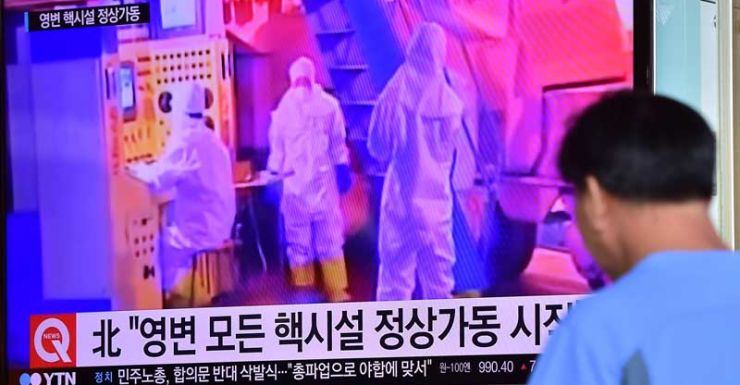 North Korea restarts nuclear reactor