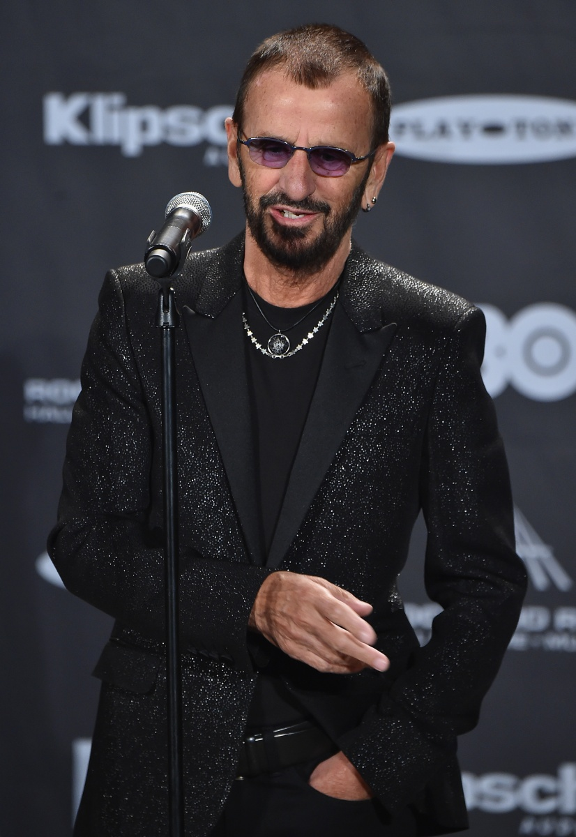 ringo starr from the beatles drummer