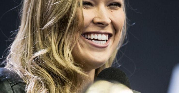 Ronda Rousey returns.